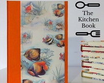 RECIPES BOOK A5 / Fish / Cookbook divided by arguments ... / Kitchen notebook 17.5 X 24.5 cm
