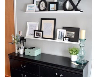 60 Inch Gallery Picture Shelf