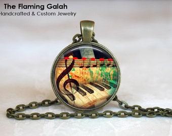PIANO Pendant •  Keyboard •  Grand Piano •  Pianist •  Musician •  Music Lover • Gift Under 20 • Made in Australia (P0920)