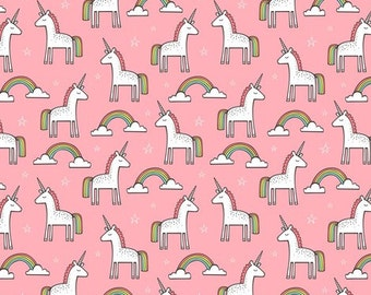 Changing Pad Cover - Pink Unicorn
