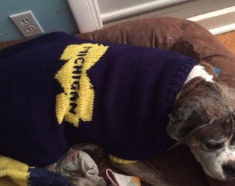 University of Michigan Sweater