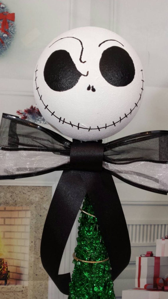 Nightmare before Christmas tree topper Jack by ...