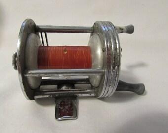 Fishing Reel, Bronson 2550 Mercury Casting Reel, 1950's