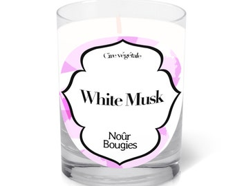 Scented candle White Musk Nour Bougies factory