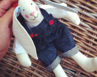 Hand crafted Bunny Rabbit collectable