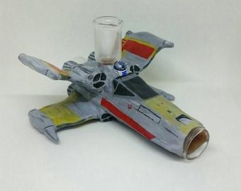 X-Wing Pipe Movie Fighter Plane Smoking Pipe