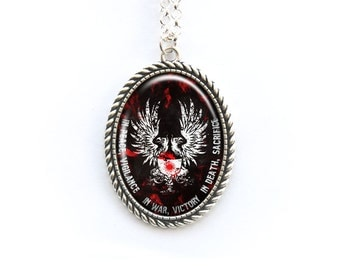 Necklace Dragon Age Grey Warden motto