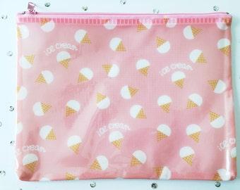 Case, Ice Creams, A5, Pink