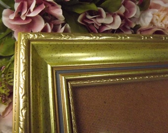 Gold, Vintage Look Ornate Gold Photo/ Picture Frame , Unused