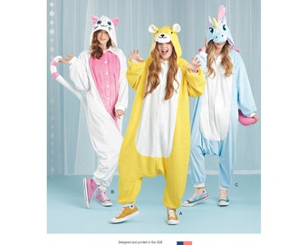 Simplicity Sewing Pattern 8276 Misses' Animal Jumpsuit