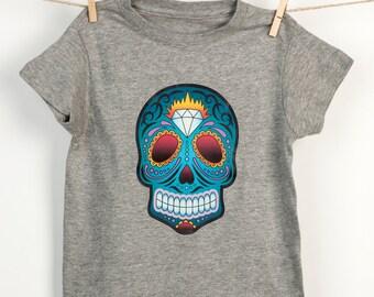 The diamond mexican sugar skull