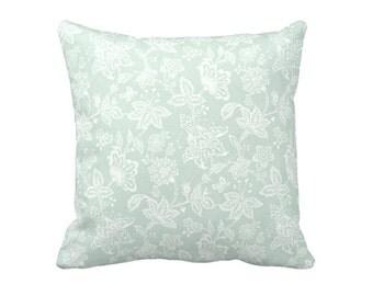 Green Throw Pillow Cover Light Green Pillow Cover Paisley Pillow Cover Floral Pillow Cover Decorative Pillows for Couch Green Pillowcase
