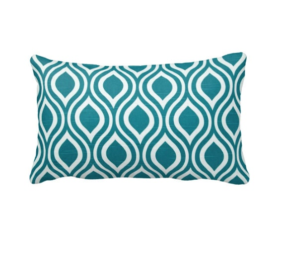 Teal Decorative Bed Pillows : Teal Green Pillow Cover Teal Throw Pillow Cover Decorative