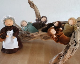 Root children for the Nature Table, Waldorf inspired