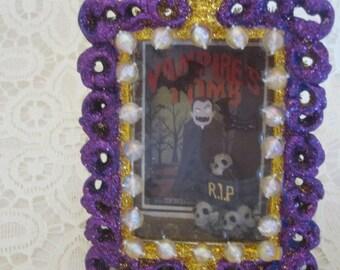 Halloween Vampire mini Diorama