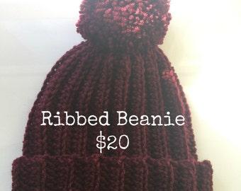 Classic Ribbed Beanie