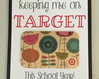 Thanks for keeping me on Target!