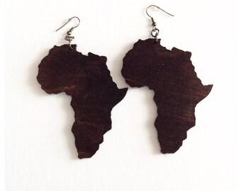 Africa earrings Etsy