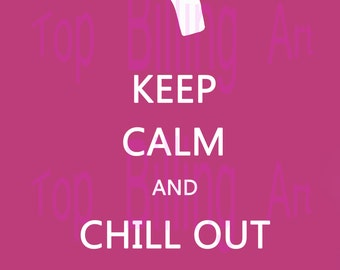 Pulp Fiction-inspired Honey Bunny Keep Calm parody, downloadable PDF file