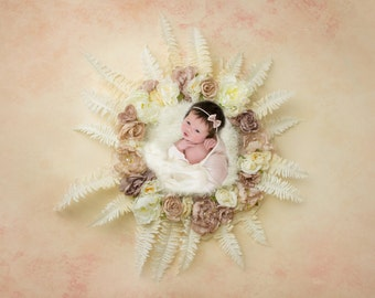 Instant Download newborn wreaths! Newborn prop wreath digital backdrop! Luxary posing wreath