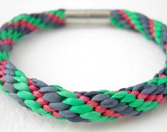 Friendship armband Silk armband Handmade armband Kumihimo armband Armband silk Braided armband Woven armband