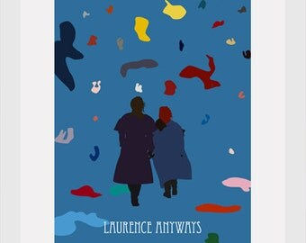 laurance anyways movie poster postcard 4'X6'