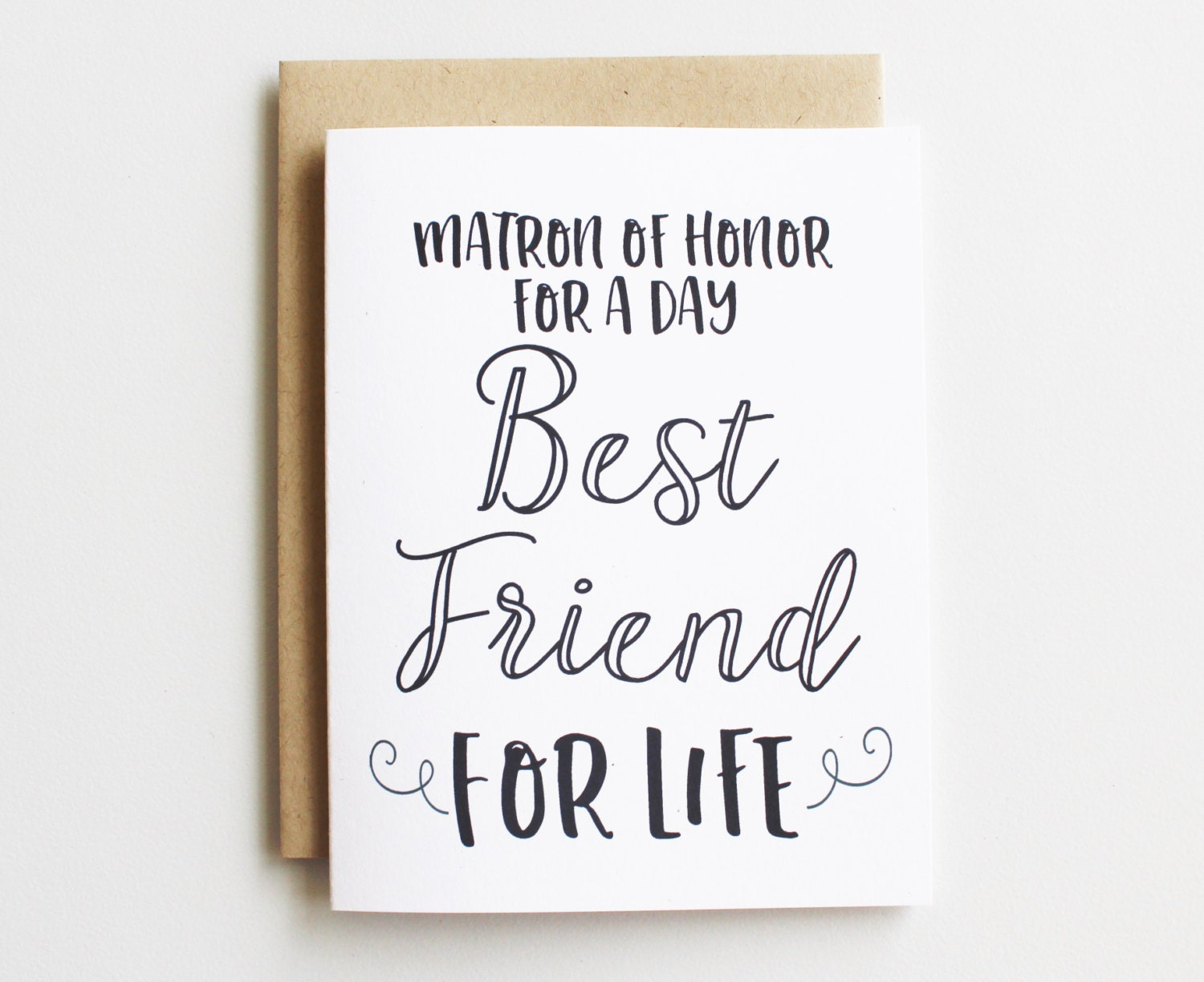 Matron Of Honor Card Funny Matron Of Honor For A By