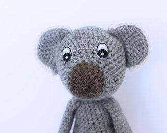 Crochet Koala Stuffed Toy