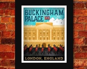 Buckingham Palace Art Print - 11x14