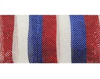 Red/White/Blue Patriotic Geomesh