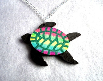 Chain, sea turtle (642)