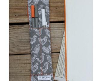 MTO Notebook pen holder - Birds
