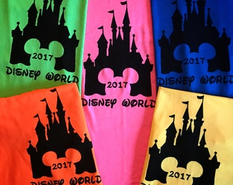 Christmas in July Special Sale  Disney Family Shirts - Disney Home Shirts - Disney Vacation Tshirts - Mickey Mouse Head Swirl