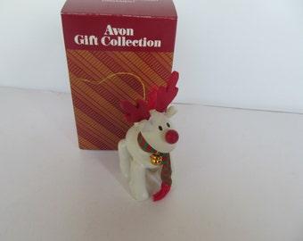 Avon Christmas Ornament - Belvedeer the christmas  Raindeer vintage