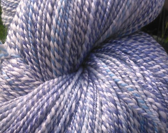 Handspun yarn merino bamboo