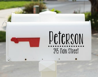 Mailbox Decal-Style 12