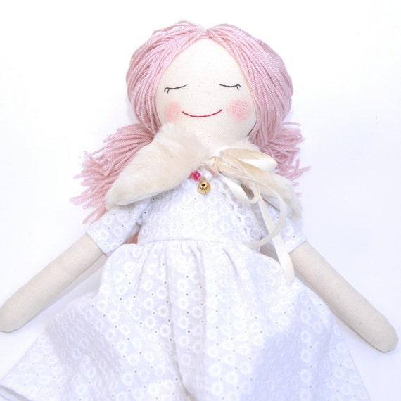 Items Similar To Hand Made Doll, Rag Doll, Cloth Doll
