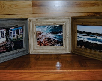 Faux Driftwood frame