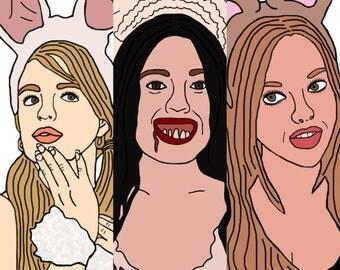 Mean Girls Halloween Set