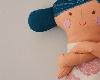 handmade rag doll // cotton // soft toy // stuffed toy
