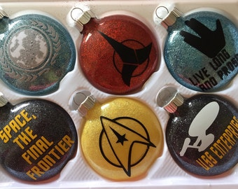 Star Trek Ornament Set