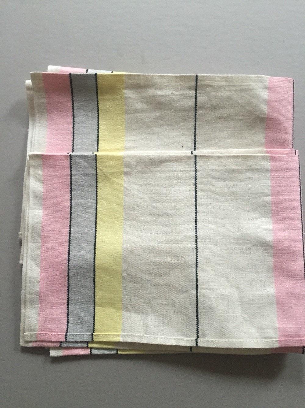 linen tea towels kitchen cloth pink grey black by. Black Bedroom Furniture Sets. Home Design Ideas