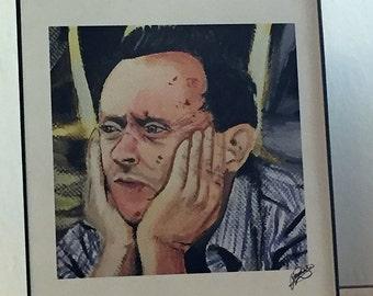 Ben Linus Michael Emerson Lost Art Printable