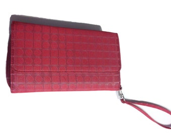 Red Cloth Wallet - Like New