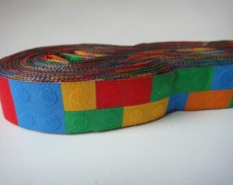 7/8'' Jacquard Ribbon Woven Ribbon