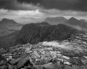 View from the Fiddler, Northwest Highlands, Scotland