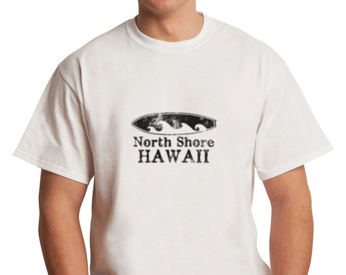 North Shore Hawaii Surfboard T-Shirt