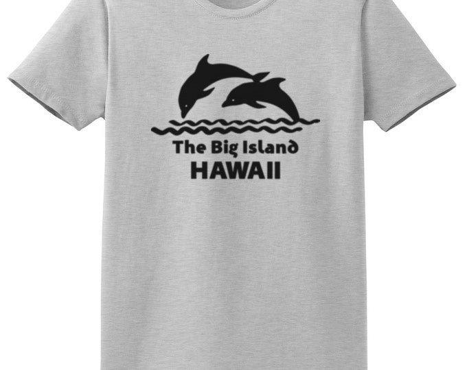 The Big Island Hawaii Dolphin T-Shirt