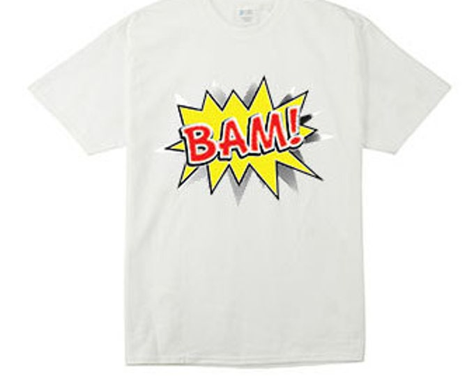 Bam Cartoon Voice Bubble T-Shirt For the Whole Family