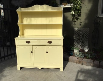 Antique Victorian Jelly Cabinet/Hutch